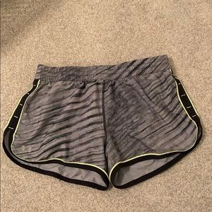 Under armor gym shorts!